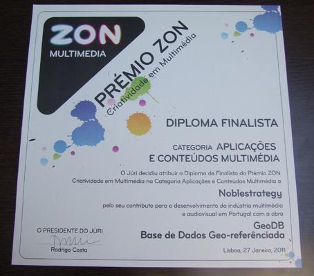 Finalistas Prémio Zon