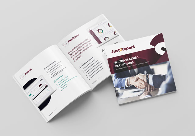 brochura just2report