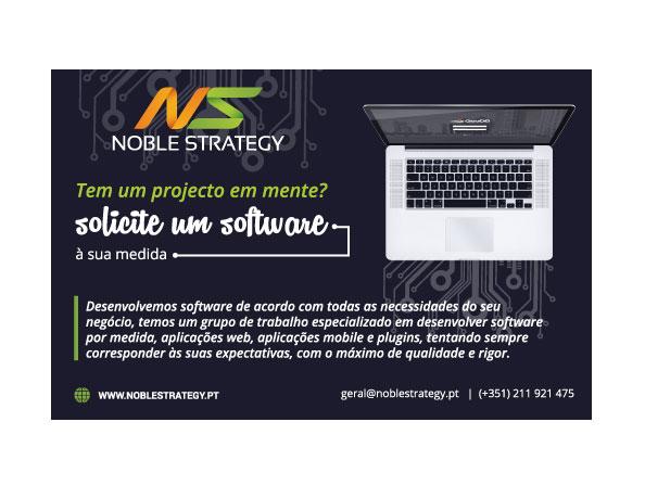 anúncio de software