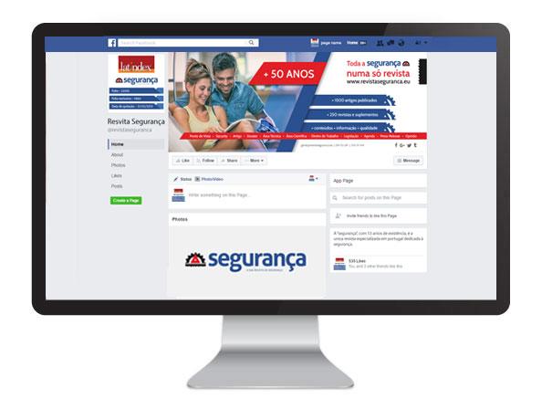 Facebook Revista Segurânça