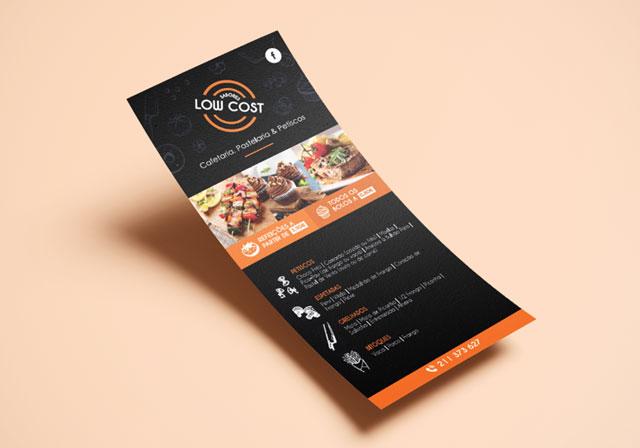 flyer sabores low cost