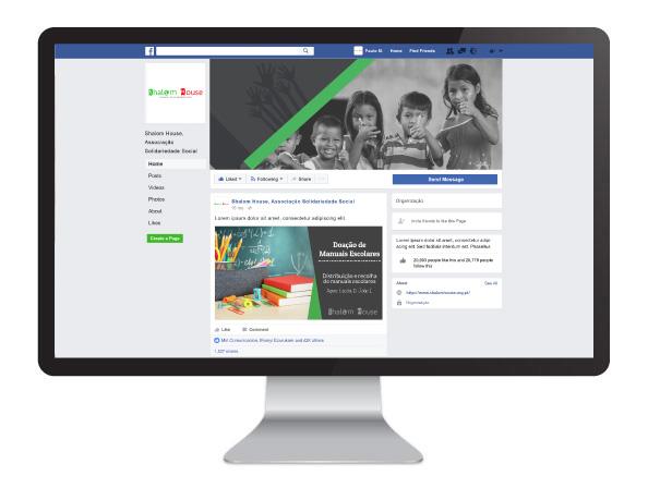 Facebook Shalom house