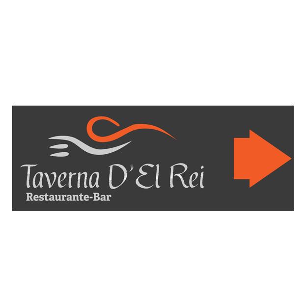 Sinalética Taverna D'El Rei