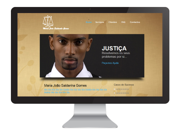 Website Maria João Saldanha Gomes