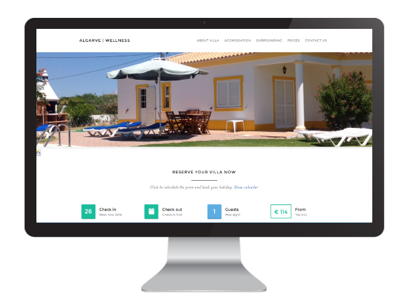 Website Algarve Wellness