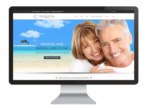 Website Anne Swart Clinic