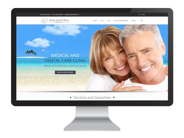Website Anne Swart Clinic