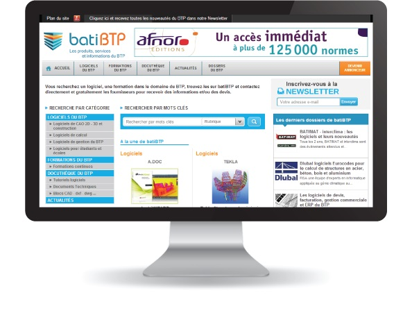 Website BatiBTP