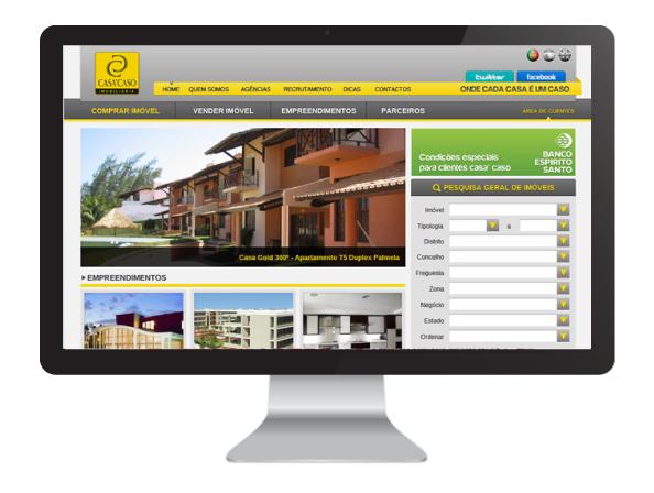 Website Casa Caso