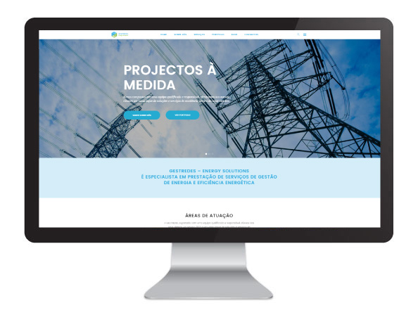 Website Gestredes Energy Solutions