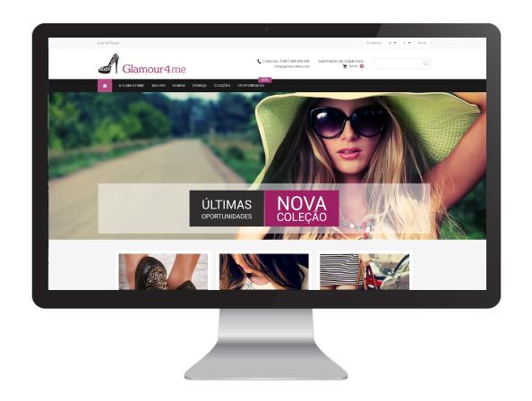 loja online Glamour4Me