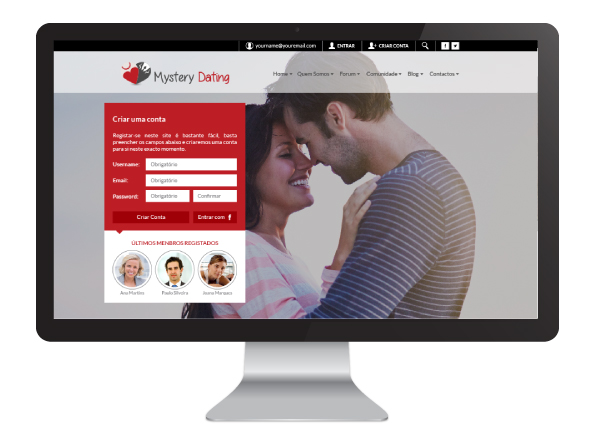 Website Mystery Dating