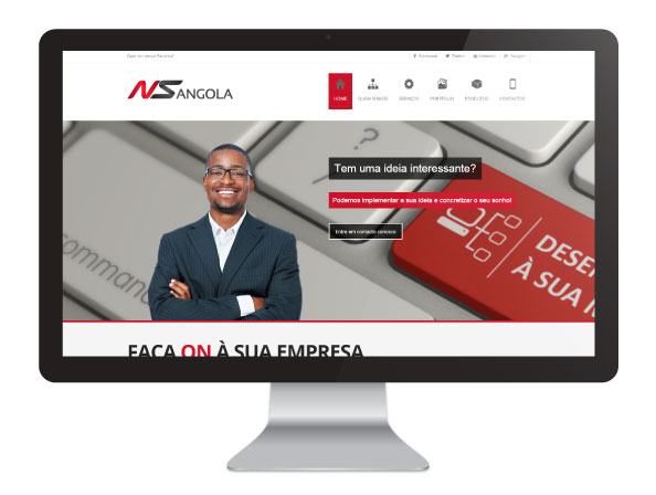 Website NS Angola