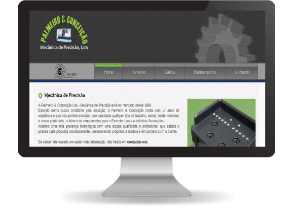 Website Palmeiro & Conceição