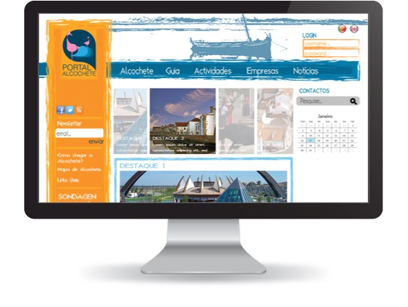 Website Portal de Alcochete