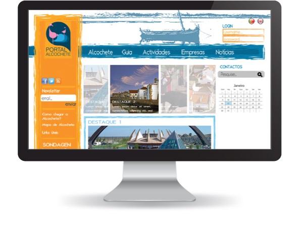 Website Portal de Alcochete