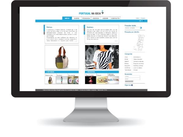 Website Portugal Na Ideia