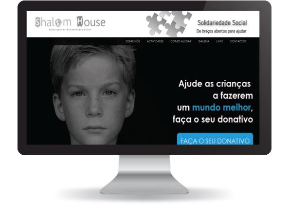 Website Shalom House