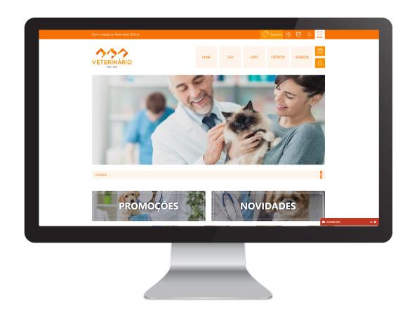 Website Veterinário Online