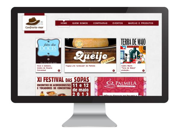 confraria-mor website