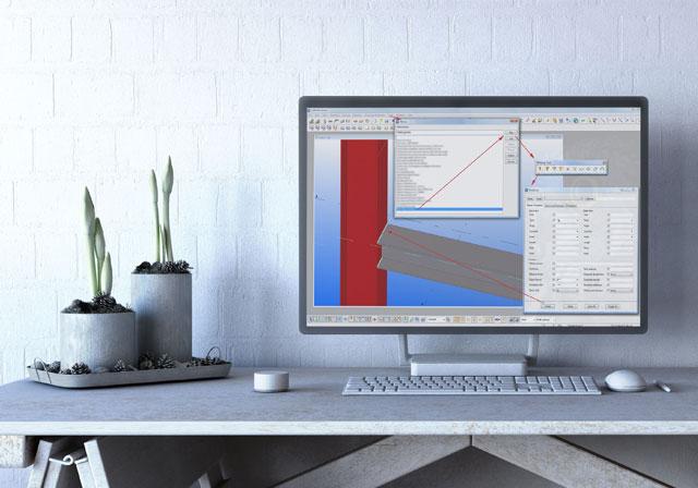 software aplicação tekla