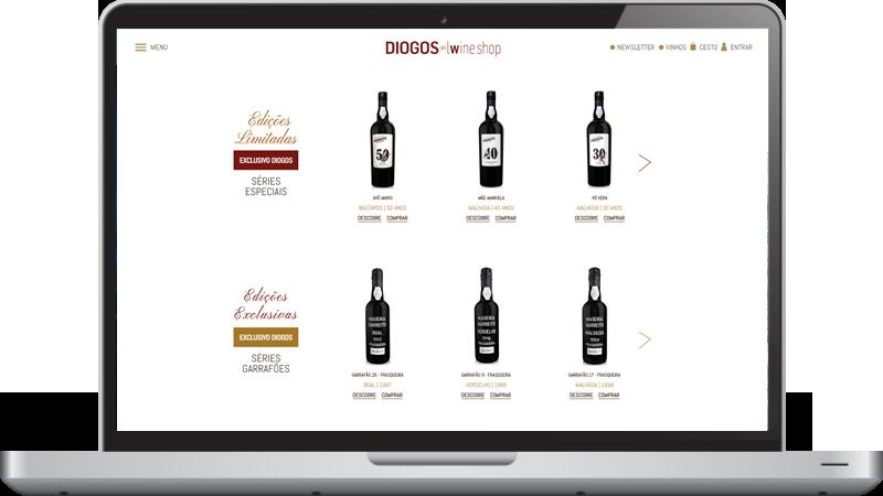 Loja online Diogos