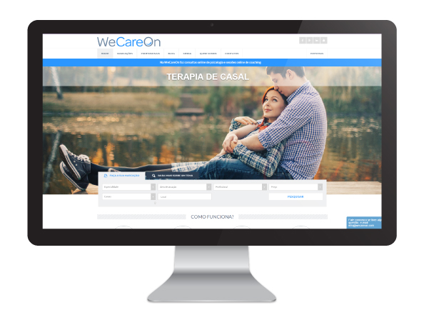 Website WeCareOn