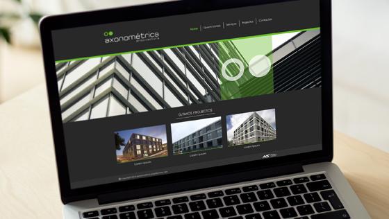 Website axonométrica