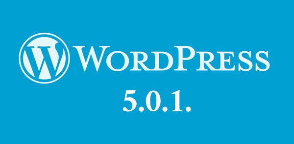 Wordpress 5.0.1